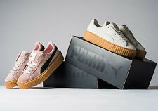 PUMA BY RIHANNA CREEPER | BLACK-OATMEAL