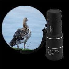 16x52 Dual Focus Spotting Optic Lens Monocular Telescope with Green Film 2Y
