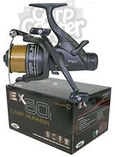 NGT EX60 Carp Pike Coarse Fishing Reels Baitrunner Reel Loaded With 10LB Line