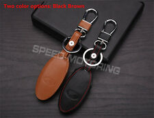 2color Choosable Leather Style Key Case Key Ring Key Chain for Infiniti Q50 QX50