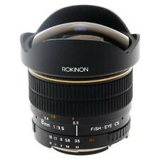Rokinon 8mm F/3.5 Aspherical Lens For Canon  FE8M-C