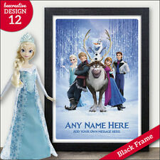 PERSONALISED Frozen Elsa Gifts - Xmas Christmas Birthday Presents - Girls, Kids