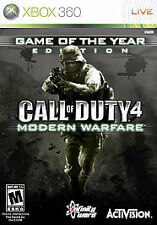 Call of Duty 4: Modern Warfare -- Game of the Year Edition  (Xbox 360, 2008)