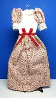 Dollhouse Miniature Size Ladies Completely Handmade Cotton Dress G205