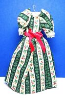 Dollhouse Miniature Size Ladies Completely Handmade Cotton Dress G200