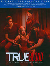 True Blood Complete Season 4 Four Fourth BLU RAY + DVD **NEW FREE SHIPPING USA!