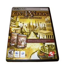(Free Shipping) Sid Meier's Civilization IV: Gold Edition (Apple, 2009)