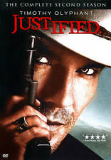 Justified: The Complete Second Season (DVD, 2012, 3-Disc Set) **BRAND NEW**