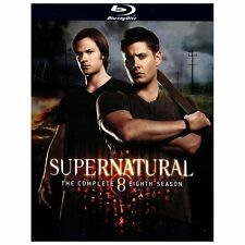 Supernatural ~ Complete Eighth Season 8 Eight ~ BRAND NEW 4-DISC BLU-RAY SEALED
