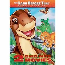 The Land Before Time: 2 Dino-Mite Movies (DVD, 2005) NEW