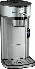 NEW  Hamilton Beach 49981 The Scoop Stainless Steel Single Serve Coffee Maker