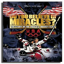 NEW Do You Believe in Miracles? - The Story of 1980 U.S. Hockey Team (DVD, 2002)