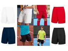Fruit Of The Loom Men's Performance Shorts Footbal Gym Jogging Running Sports