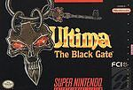 Ultima: The Black Gate (Super Nintendo, 1994) game only [no box]