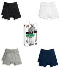 4 Pairs Fruit Of The Loom Men's Classic Boxer Underwear Shorts Pants Trunk Style