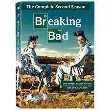 Sealed Breaking Bad: Complete Season 2 (DVD, 2010, 4-Disc Set) Fast Shipping. qp
