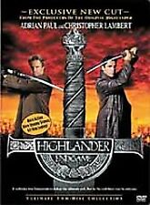 Highlander: Endgame (DVD, 2001, 2-Disc Set, WS) Christopher Lambert, Adrian Paul