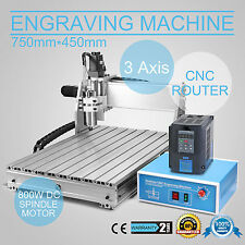 3 Axis CNC Milling Machine Router Drill Wood Cutting Engraving Engraver 6040