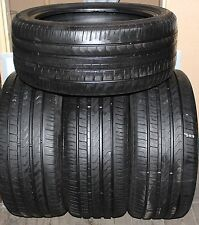 245/40/18 4X Pirelli P7 Cinturato Part Worn AO 6-7mm
