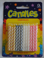 Birthday Party Cake Decorations - 24 Multi Colour Candles