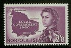 Norfolk Island 1960 Scott # 42 MLH