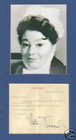 Hattie Jacques TL signed + carry On pic display UACCRD