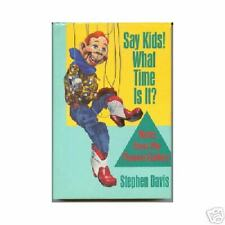 Say, Kids! What Time Is It? by Stephen Davis (1987)