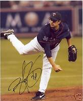BOOF BONSER MINNESOTA TWINS SIGNED 8X10 PHOTO W/COA