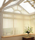 Quality Made to Measure Complete Vertical Blinds (Plain & Pattern fabric)