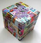 100 MONACO MIXED STAMPS USED OFF PAPER