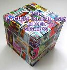 200 PACIFIC ISLANDS (BR) MIXED STAMPS USED OFF PAPER