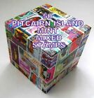50 PITCAIRN ISLAND MIXED STAMPS-MINT
