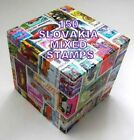 150 SLOVAKIA MIXED STAMPS USED OFF PAPER