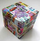 1000 USA  MIXED STAMPS USED OFF PAPER