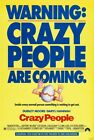 CRAZY PEOPLE D/S 27x40 Original Movie Poster One Sheet