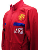 NEW Manchester United Football Tracksuit Jacket M