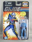 GI Joe 25th Anniversary Foil Cobra Commander MOC NEW