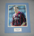 KEVIN GALLACHER In Blackburn Rovers Shirt HAND SIGNED 14x11 Photo Mount + COA
