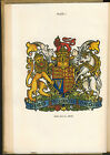 HERALD ARMORY DRAGON KNIGHT KING MEDIEVAL PLATES 1909
