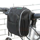 Cycling Bike Bicycle handlebar bag front basket Black
