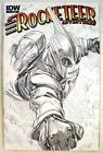 ROCKETEER ADVENTURES # 1 RI - Alex Ross SKETCH VARIANT!