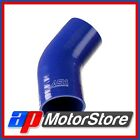 Blue Silicone Hose Elbow 45 Degree 60Mm
