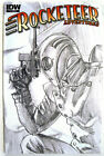ROCKETEER ADVENTURES # 2 RI - Alex Ross SKETCH VARIANT!