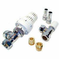 Salus 15mm Thermostatic Radiator Valve with Lockshield