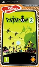 New Patapon 2  euro essentials real game with umd