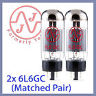 2x NEW JJ Tesla 6L6 / 6L6GC Vacuum Tubes, Matched Pair TESTED