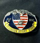 Vintage 1991 Desert Storm US Army Belt Buckle!