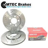Peugeot 407 SW 2.0 Hdi 09/04- Front Brake Discs+Pads