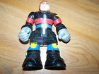 "6"" Chunky Mattel Rescue Heroes Action Figure 1999 Mattel Toy Fire Chief Fireman"