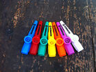 HOHNER KAZOO Mixture Of Colours Purple Orange White Blue Red Yellow Green